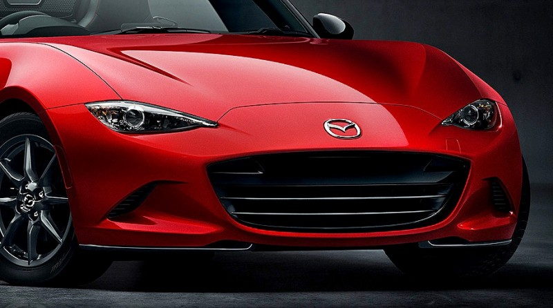 Next-Gen 2016 Mazda MX-5 First Look Shows Lean New Design 6