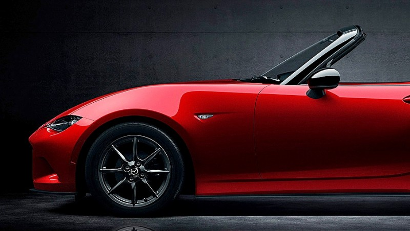 Next-Gen 2016 Mazda MX-5 First Look Shows Lean New Design 7