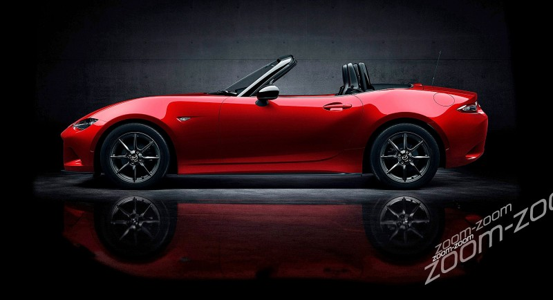 Next-Gen 2016 Mazda MX-5 First Look Shows Lean New Design 8