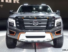 Best of NAIAS – 2016 Nissan TITAN Warrior Concept – Nightclub Cool + Baja-Tough Mods for Raptor-Killer