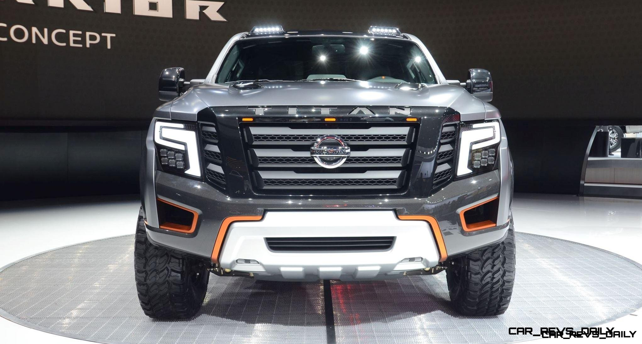 Best of NAIAS - 2016 Nissan TITAN Warrior Concept ...