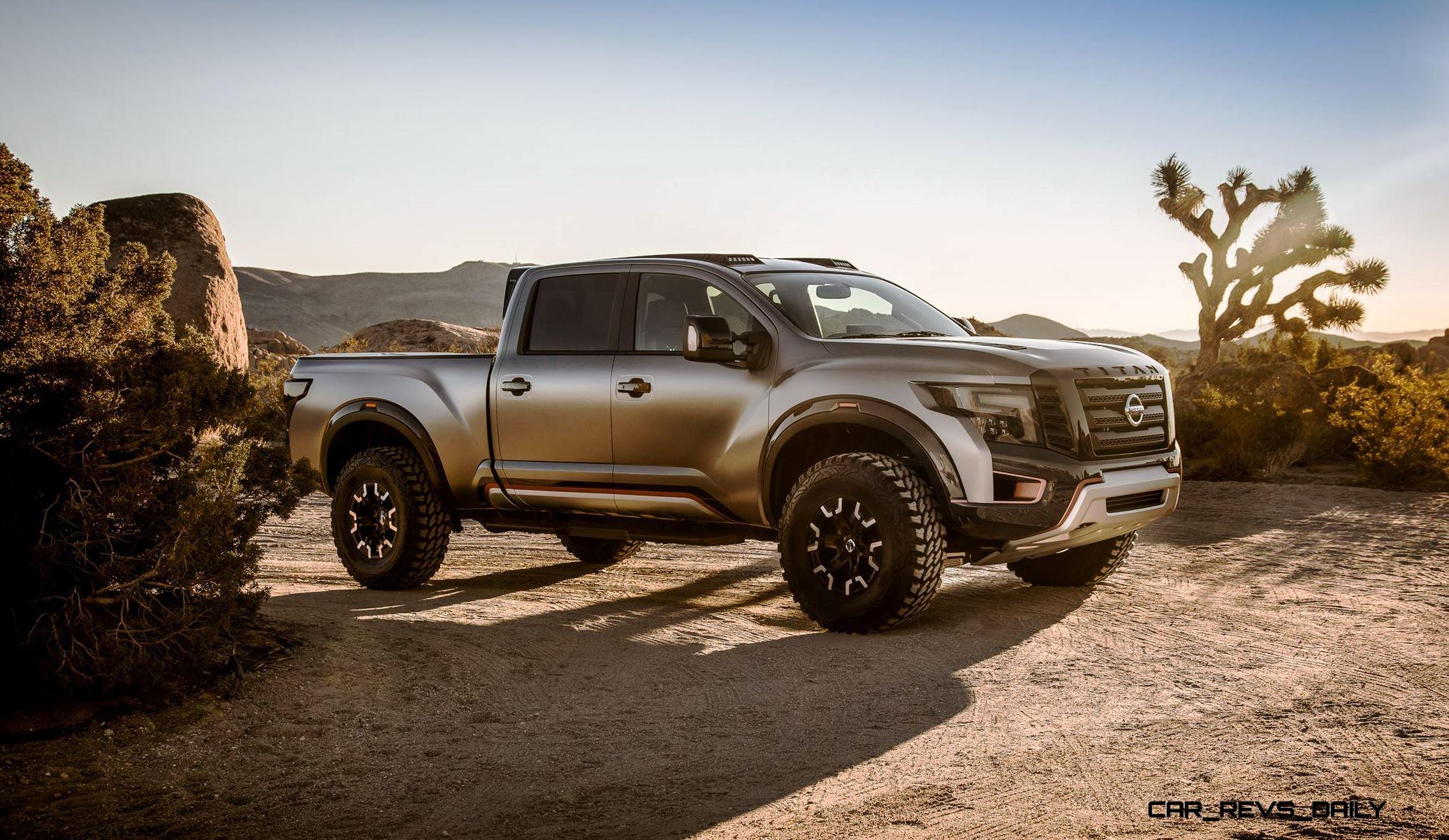 titan nissan warrior concept raptor 2021 side cool truck mods baja date hd release specs cars killer revs daily ford