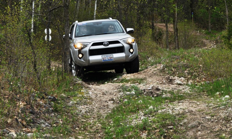 Off-Roading in the 2014 Toyota 4Runner SR5 - Guess Who Chickens Out First 10