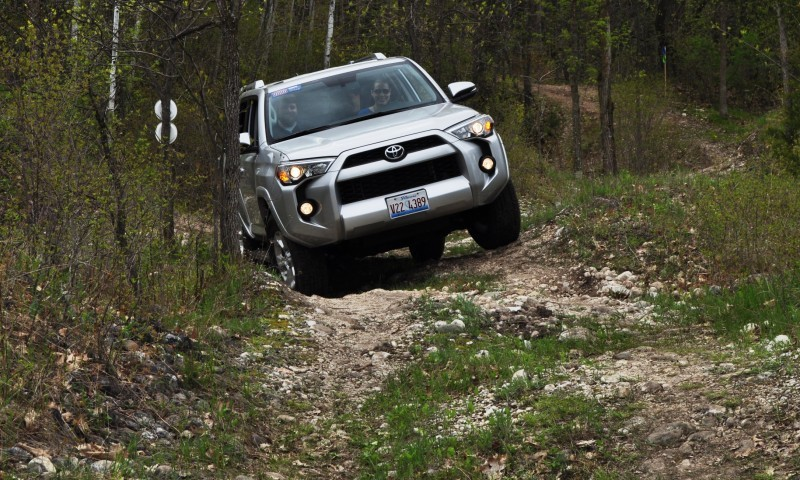 Off-Roading in the 2014 Toyota 4Runner SR5 - Guess Who Chickens Out First 11