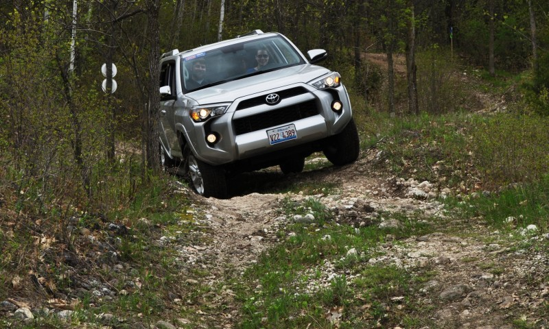 Off-Roading in the 2014 Toyota 4Runner SR5 - Guess Who Chickens Out First 12