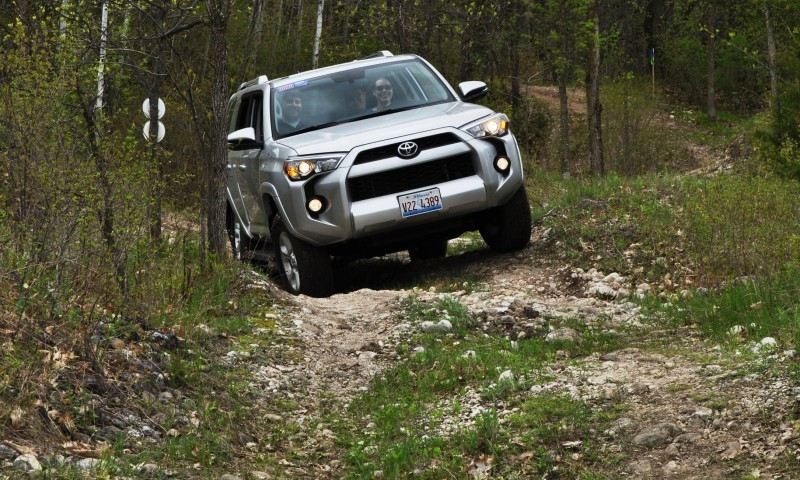 Off-Roading in the 2014 Toyota 4Runner SR5 - Guess Who Chickens Out First 13
