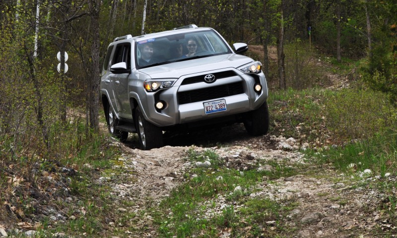 Off-Roading in the 2014 Toyota 4Runner SR5 - Guess Who Chickens Out First 14