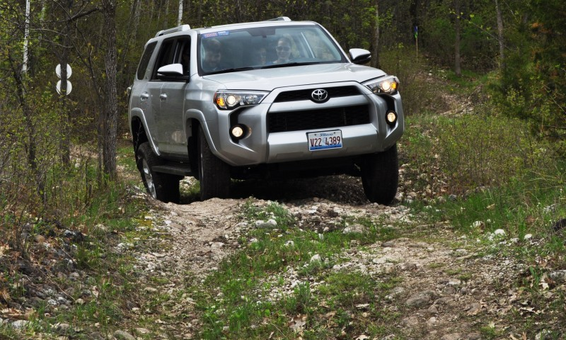 Off-Roading in the 2014 Toyota 4Runner SR5 - Guess Who Chickens Out First 15