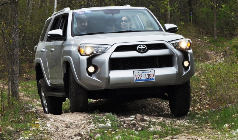 Off-Roading in the 2014 Toyota 4Runner SR5 - Guess Who Chickens Out First 16