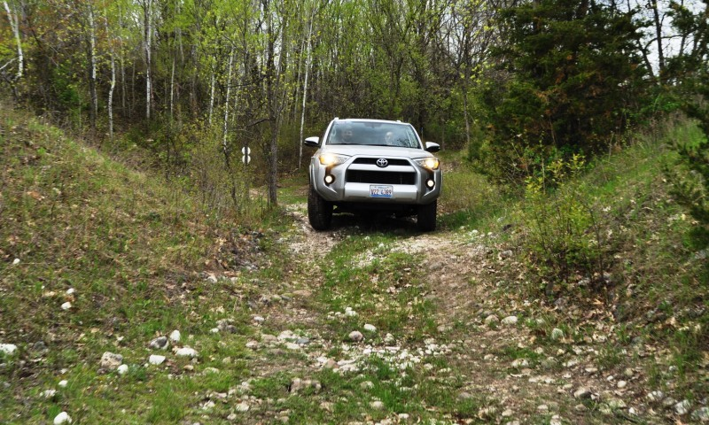 Off-Roading in the 2014 Toyota 4Runner SR5 - Guess Who Chickens Out First 17