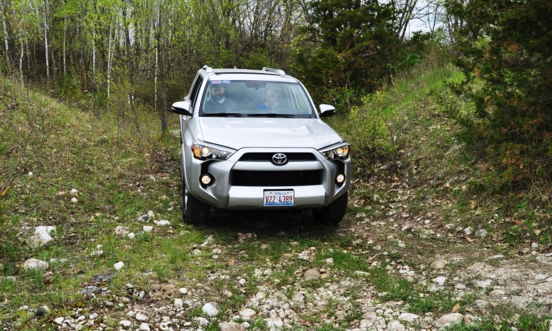 Off-Roading in the 2014 Toyota 4Runner SR5 - Guess Who Chickens Out First 19