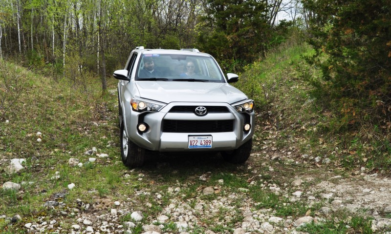 Off-Roading in the 2014 Toyota 4Runner SR5 - Guess Who Chickens Out First 20