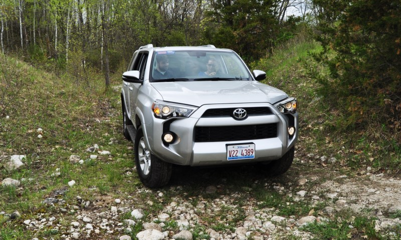 Off-Roading in the 2014 Toyota 4Runner SR5 - Guess Who Chickens Out First 21