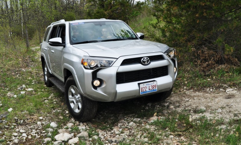 Off-Roading in the 2014 Toyota 4Runner SR5 - Guess Who Chickens Out First 22