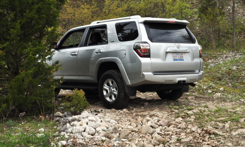 Off-Roading in the 2014 Toyota 4Runner SR5 - Guess Who Chickens Out First 33