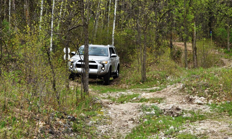 Off-Roading in the 2014 Toyota 4Runner SR5 - Guess Who Chickens Out First 5