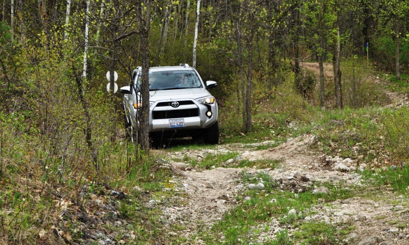 Off-Roading in the 2014 Toyota 4Runner SR5 - Guess Who Chickens Out First 6