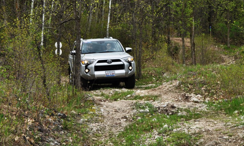 Off-Roading in the 2014 Toyota 4Runner SR5 - Guess Who Chickens Out First 7