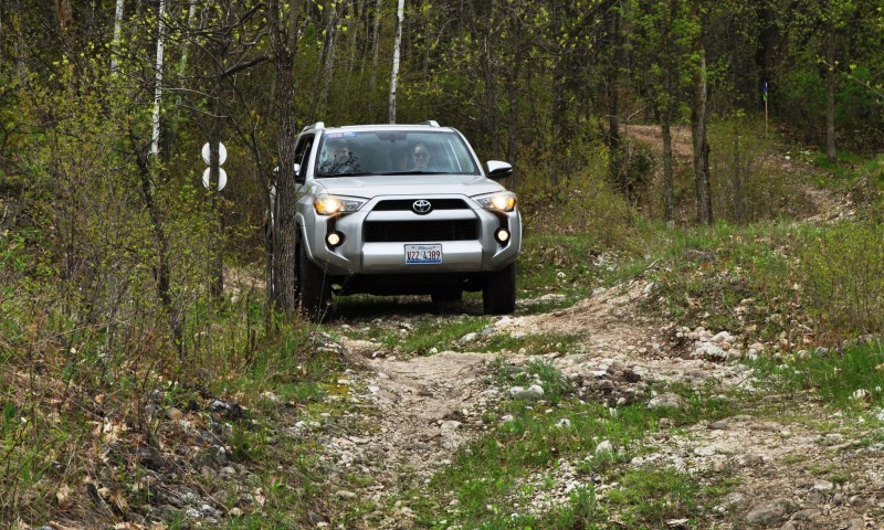 Off-Roading in the 2014 Toyota 4Runner SR5 - Guess Who Chickens Out First 8