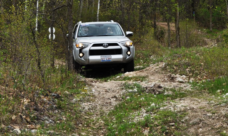 Off-Roading in the 2014 Toyota 4Runner SR5 - Guess Who Chickens Out First 9