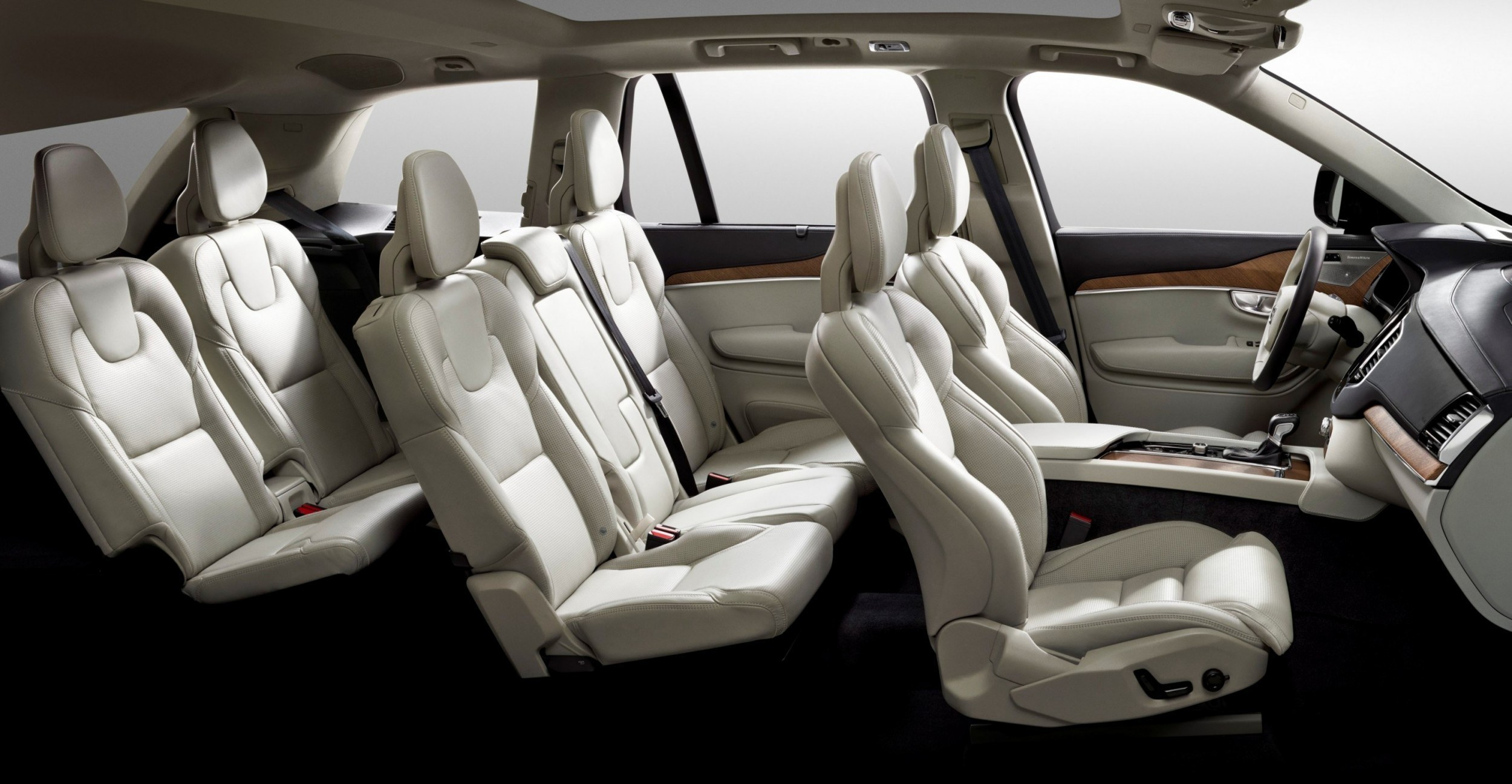 2015 Volvo XC90 Interior Is 7-Seat Comfort, Luxury and Tech