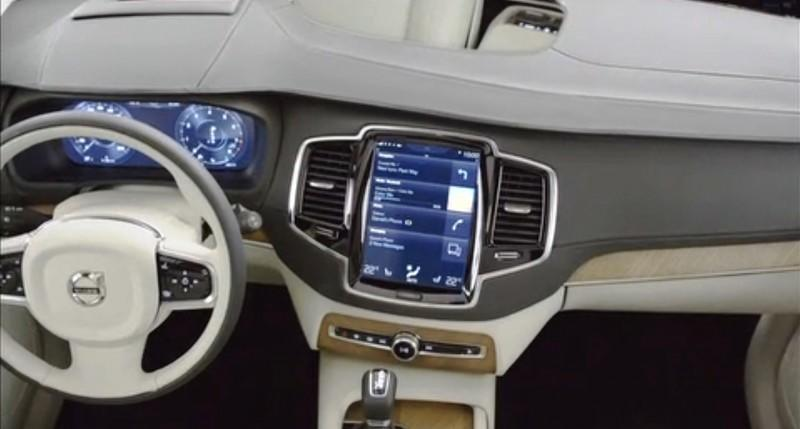 PRODUCTION 2015 VOLVO XC90 Interior First Look 15