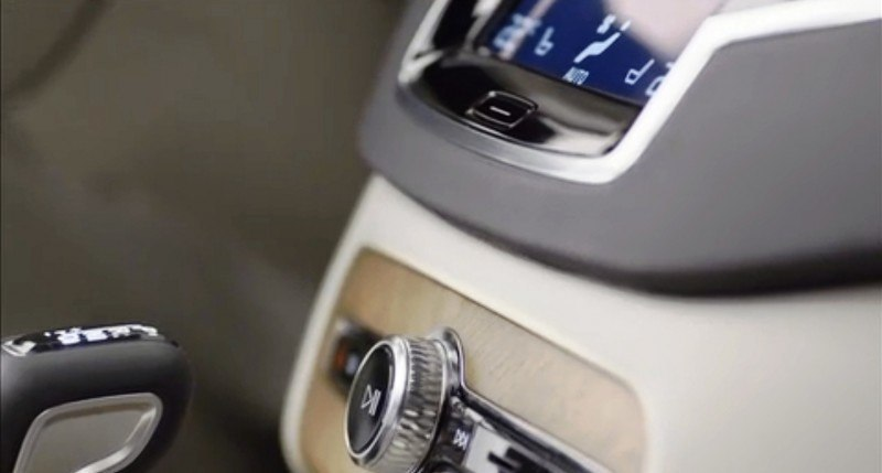 PRODUCTION 2015 VOLVO XC90 Interior First Look 17