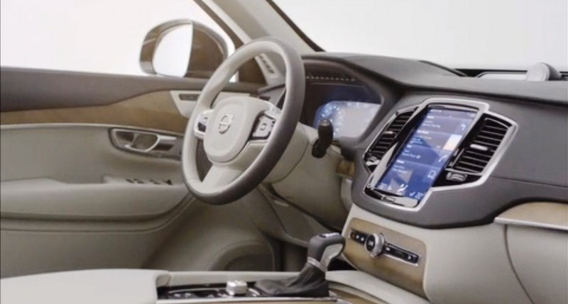 PRODUCTION 2015 VOLVO XC90 Interior First Look 18