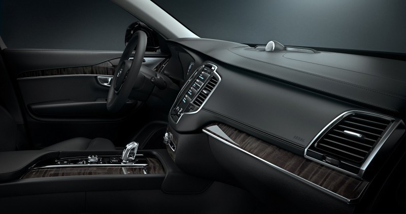 PRODUCTION 2015 VOLVO XC90 Interior First Look 2