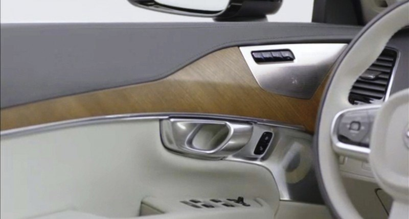 PRODUCTION 2015 VOLVO XC90 Interior First Look 22