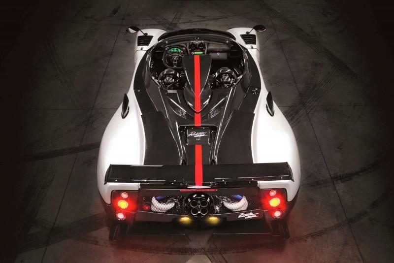 Pagani ZONDA Cinque Roadster 1