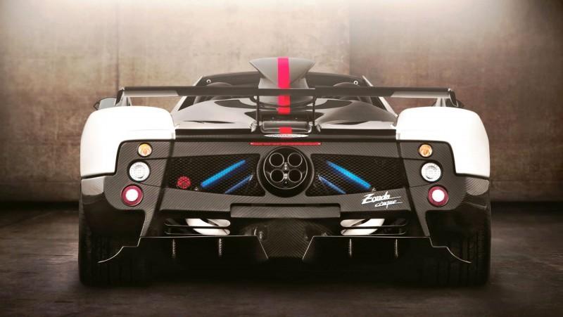 Pagani ZONDA Cinque Roadster 5