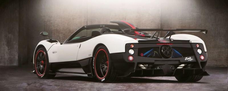 Pagani ZONDA Cinque Roadster 6