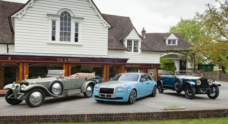 Past and Future Perfect - Rolls-Royce Is Evergreen in 111-Year History - 111 RARE Photos To Celebrate 31