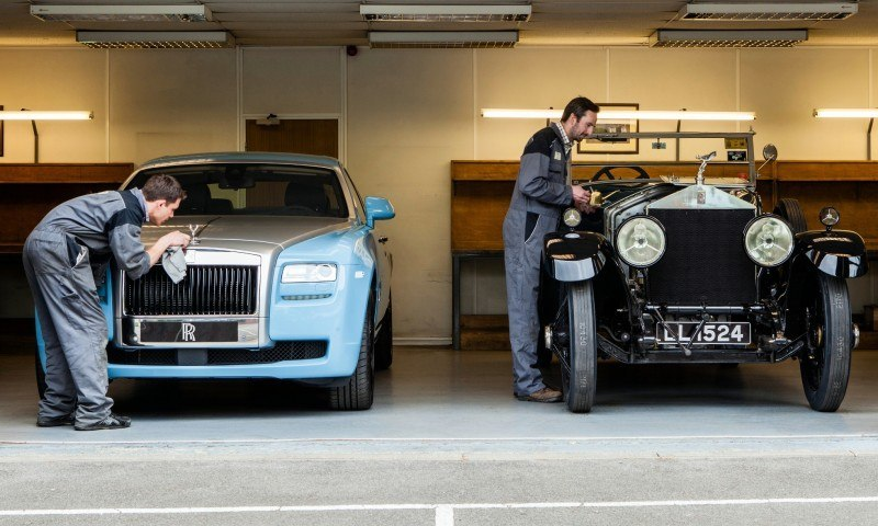 Past and Future Perfect - Rolls-Royce Is Evergreen in 111-Year History - 111 RARE Photos To Celebrate 32