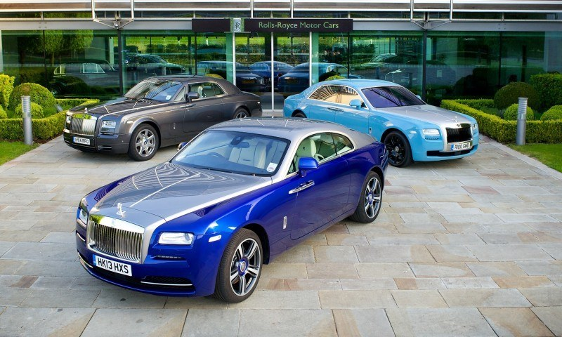 Past and Future Perfect - Rolls-Royce Is Evergreen in 111-Year History - 111 RARE Photos To Celebrate 72