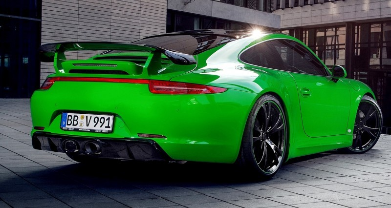 Porsche 911 C4S by TECHART Stays Timeless With Sophisticated Style Enhancements 10