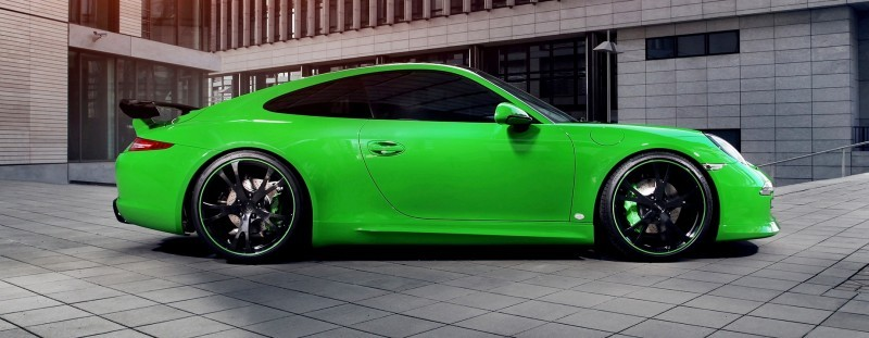 Porsche 911 C4S by TECHART Stays Timeless With Sophisticated Style Enhancements 18