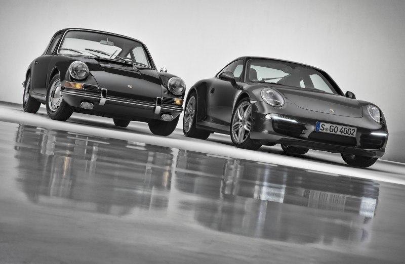 Porsche 911 Carrera S in Gorgeous Photo Shoot with Original Porsche 911 2.0-liter 15