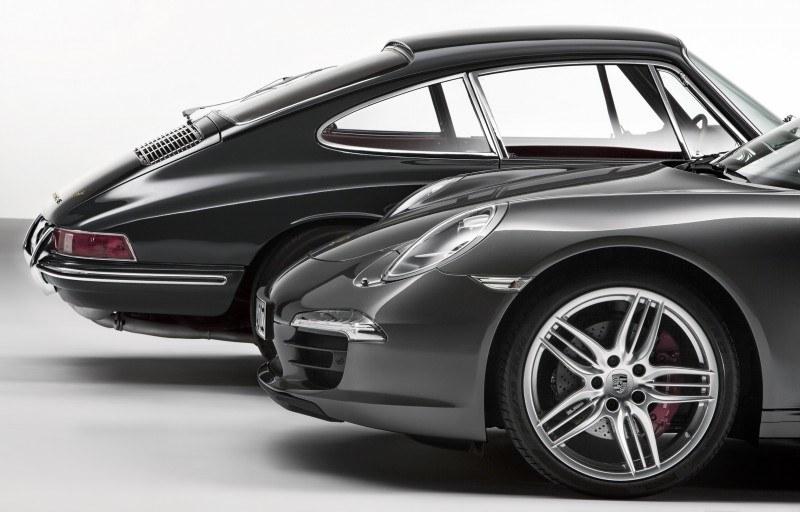 Porsche 911 Carrera S in Gorgeous Photo Shoot with Original Porsche 911 2.0-liter 2