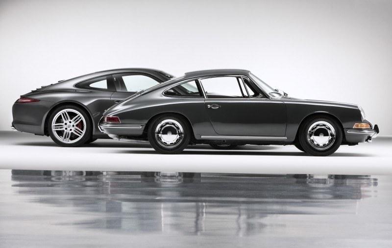 Porsche 911 Carrera S in Gorgeous Photo Shoot with Original Porsche 911 2.0-liter 21