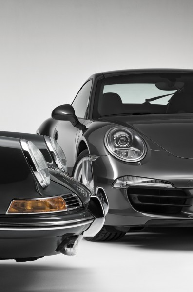 Porsche 911 Carrera S in Gorgeous Photo Shoot with Original Porsche 911 2