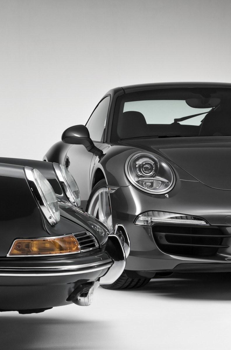 Porsche 911 Carrera S in Gorgeous Photo Shoot with Original Porsche 911 2.0-liter 24