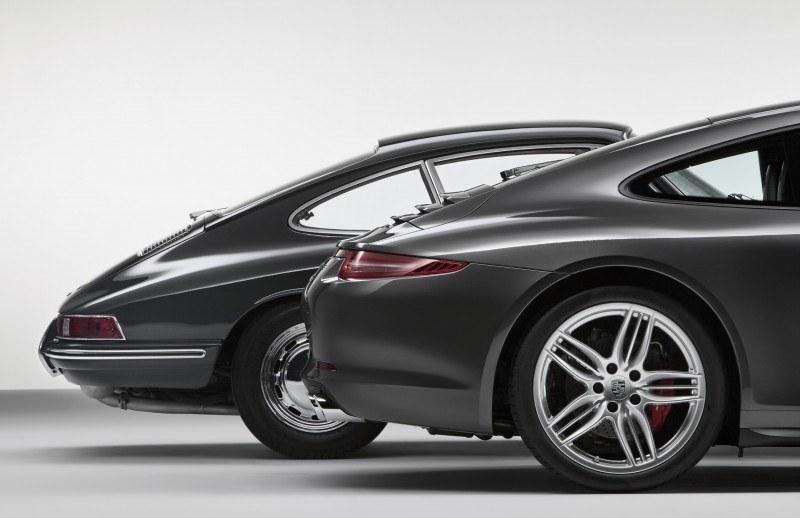 Porsche 911 Carrera S in Gorgeous Photo Shoot with Original Porsche 911 2.0-liter 25