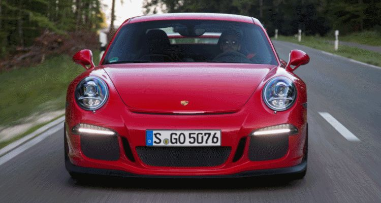 Porsche 911 GT3 2014 header gif