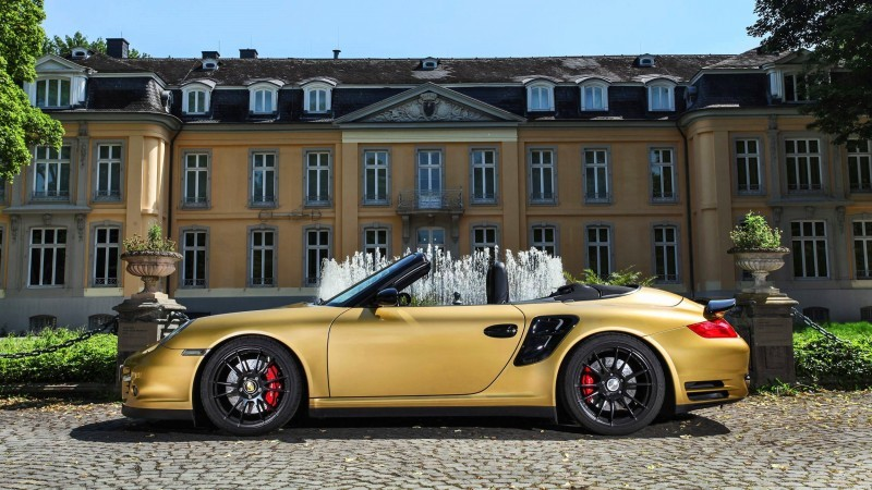 Porsche 911 Turbo Cabrio by WIMMER RST  12