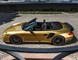 Black Gold! 840HP, 226MPH Porsche 911 Turbo Cabrio by WIMMER RST