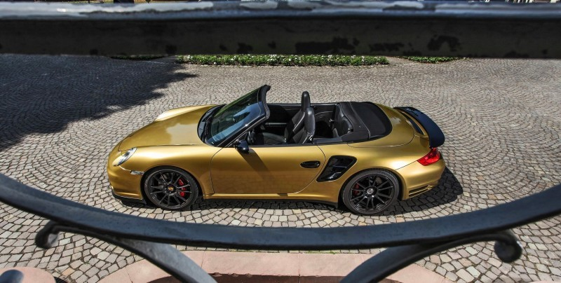 Black Gold! 840HP, 226MPH Porsche 911 Turbo Cabrio by WIMMER RST Black Gold! 840HP, 226MPH Porsche 911 Turbo Cabrio by WIMMER RST