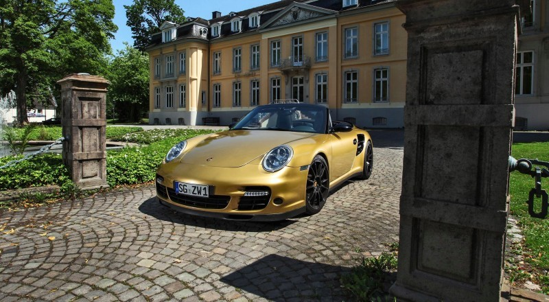 Porsche 911 Turbo Cabrio by WIMMER RST  5