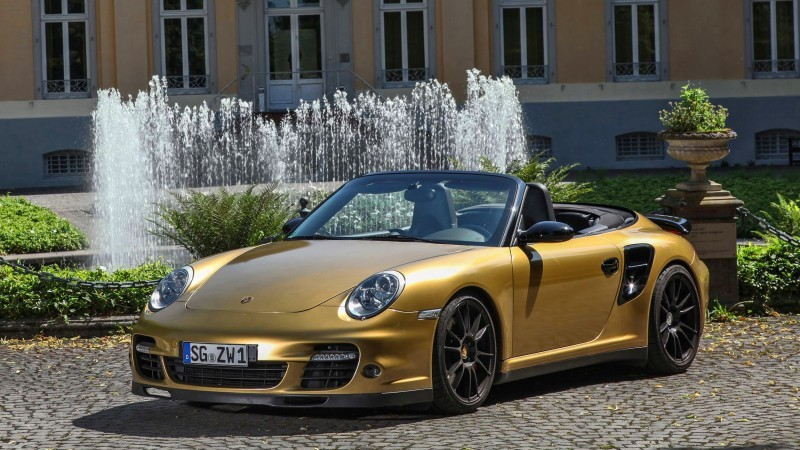 Porsche 911 Turbo Cabrio by WIMMER RST  8